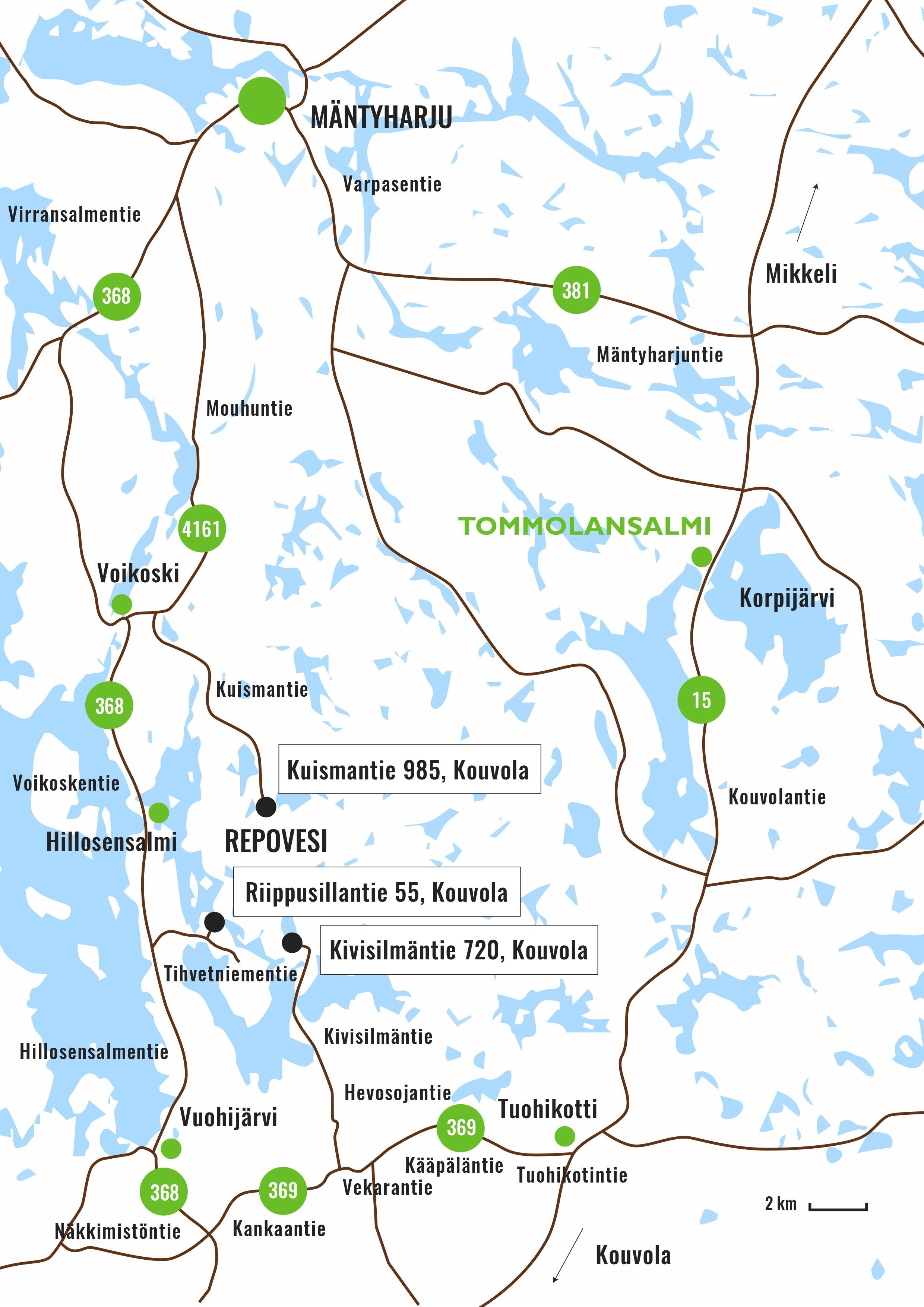 Repovesi National Park Visit Lake Korpijarvi