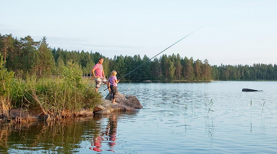 Kalastus Korpijärvellä