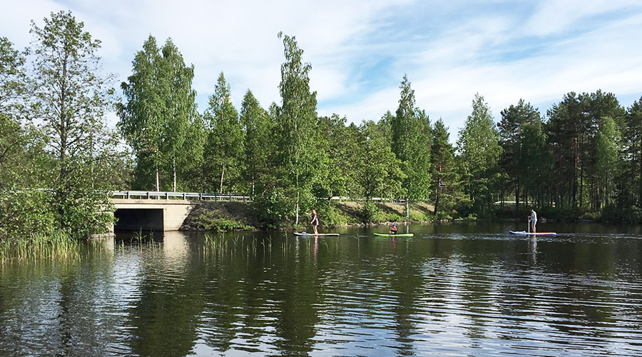 Other activities at Lake Korpijärvi