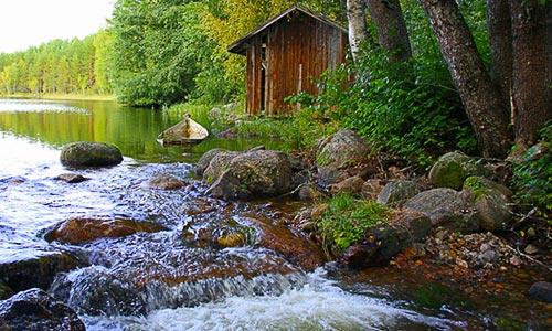 Puhinkoski rapids