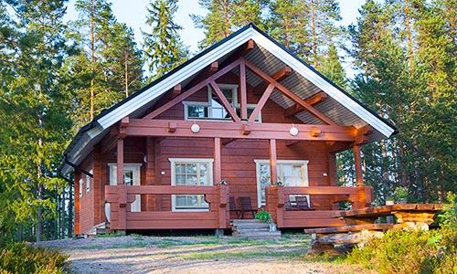 Holiday cottages at Lake Korpijärvi