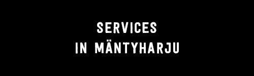 Services in Mäntyharju